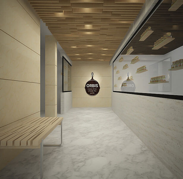 commercial shops interior design projects in doha