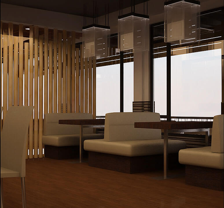 restaurant interior design projects in doha