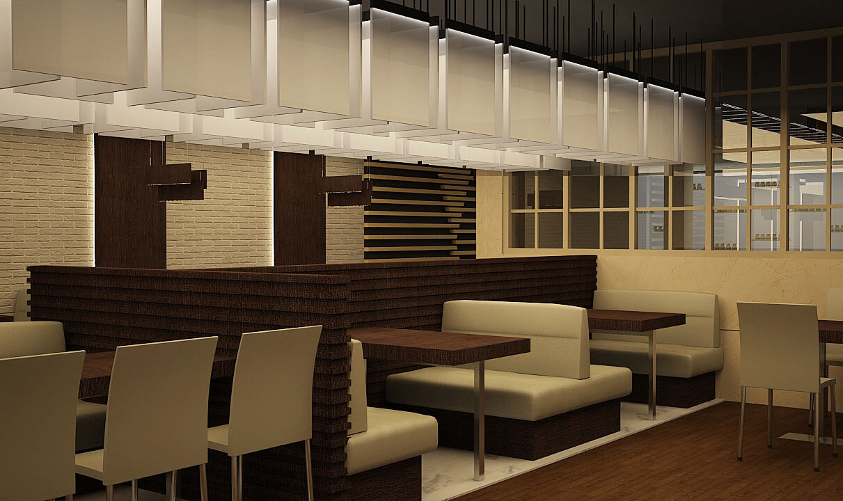 commercial shops interior design in doha